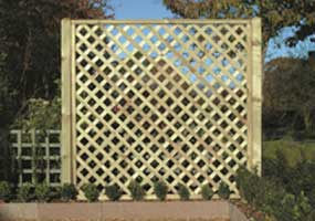 lap panels feather edge panels trellis fencing birmingham west