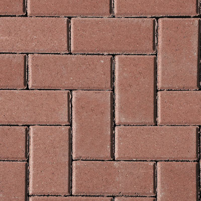 Red Slane paving blocks