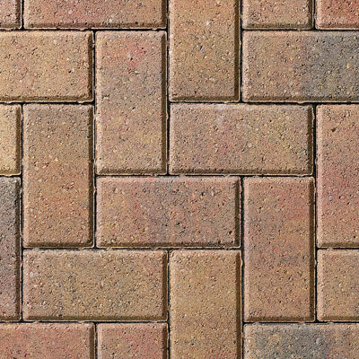 Rustic Slane paving blocks